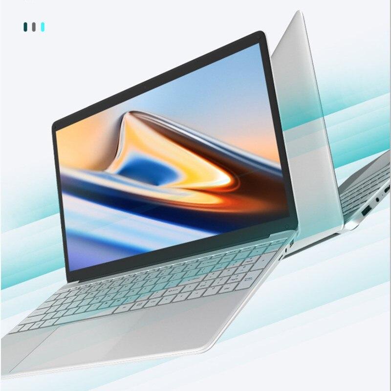 Nwnlap-notebook de 15.6 polegadas, quad core, 12gb ram, 256gb, ssd, quad core, cpu 1920*1080p, sistema completo, jogo, laptop