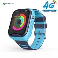 Смарт-часы для детей и студентов с GPS, Wi-Fi, 4G, водонепроницаемые