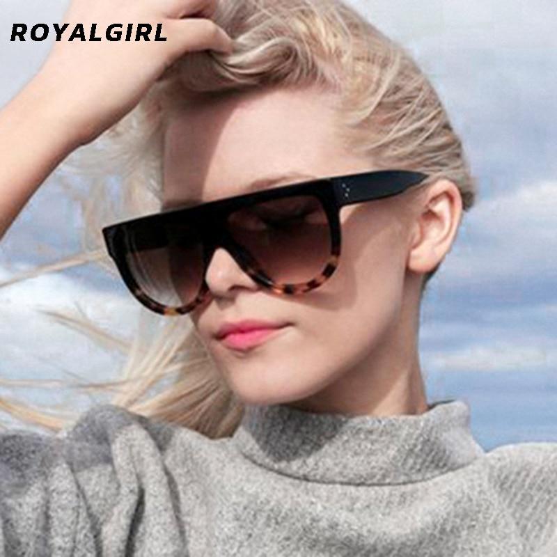 ROYAL GIRL Vintage Sunglasses Women Brand Designer Sun Glasses Female High Quality Acetate Shades Gr