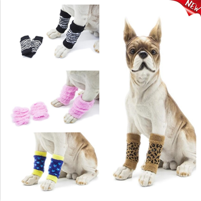 Mallas antisuciedad para mascotas, botines hasta la rodilla para perros, calcetín de...