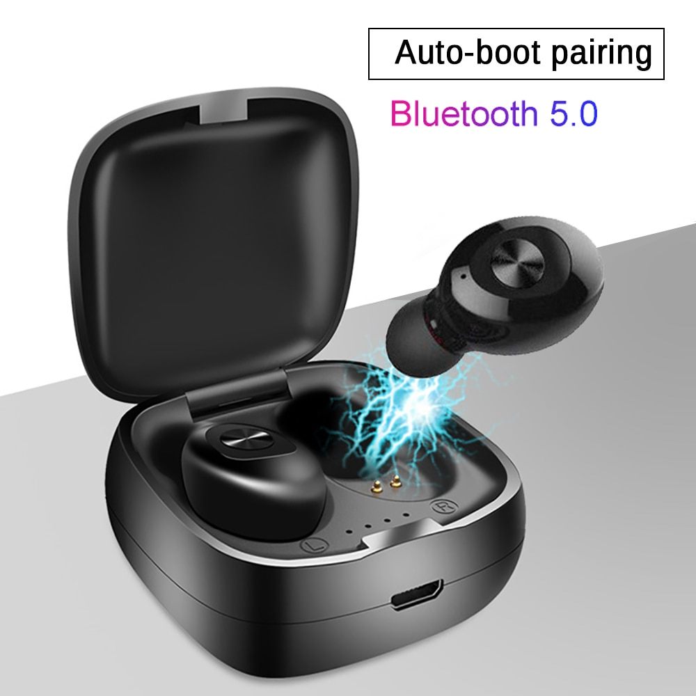 Single XG12 TWS Wireless Bluetooth 5.0 Earphone Stereo HIFI Sound Sport Earphones Handsfree In Ear Gaming Headset With Mic