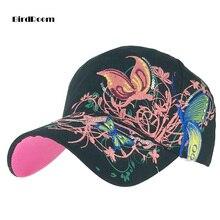 Multicolor Ball czapki dla kobiet motyl haftowane czapki mężczyźni dopasowana, w stylu Casual berety czapki Hip Hop Baseball Snapback czapki Trucker