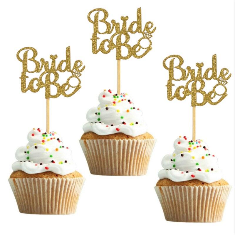 Toppers, decoração de bolo de noiva, decoração de bolo de noiva, enfeite de casamento, decoração de bolo de despedida de solteiros com 10 peças ferramentas-s