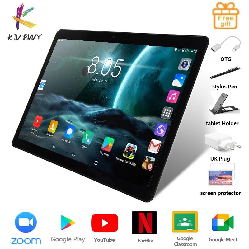 KIVBWY 10.1 inch tablet PC 2+32GB ROM 1280*800 IPSl SIM Card 4G LTE FDD Wifi Bluetooth Android10.0 Tablets Octa Core Google Play