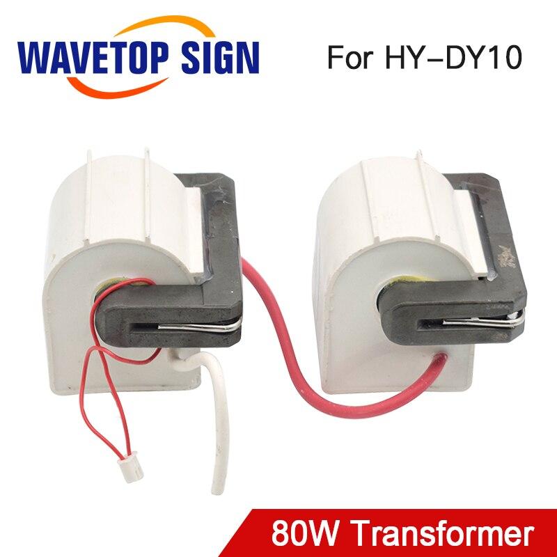 عالية الجهد Flyback محول HY-60TC-3T * 2 80 واط استخدام ل Reci الليزر امدادات الطاقة DY10 80 واط 2 قطعة/السلع