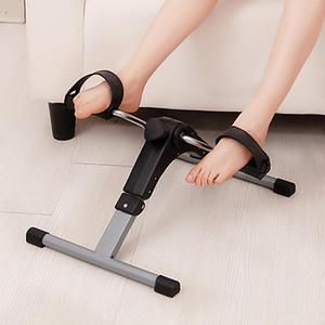 Indoor Cycling Bike Stepper Apparatus Home Mini Horizontal Stepper LCD Display For Home Office Gym Aerobic Exercise