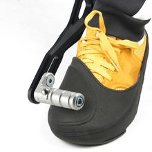 Anti-slip Motorcycle Gear Shift Pad Riding cycling Shoes cover Scuff Mark Protector Motorbike bike B