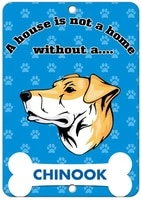 a house is not a home without chinook dog label vinyl decal sticker kit osha safety label compliance signs 8