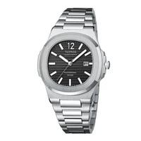 2021 new ticfrog design top brand mens sports quartz watches stainless steel 50m waterproof japan movement luxury wristwatches