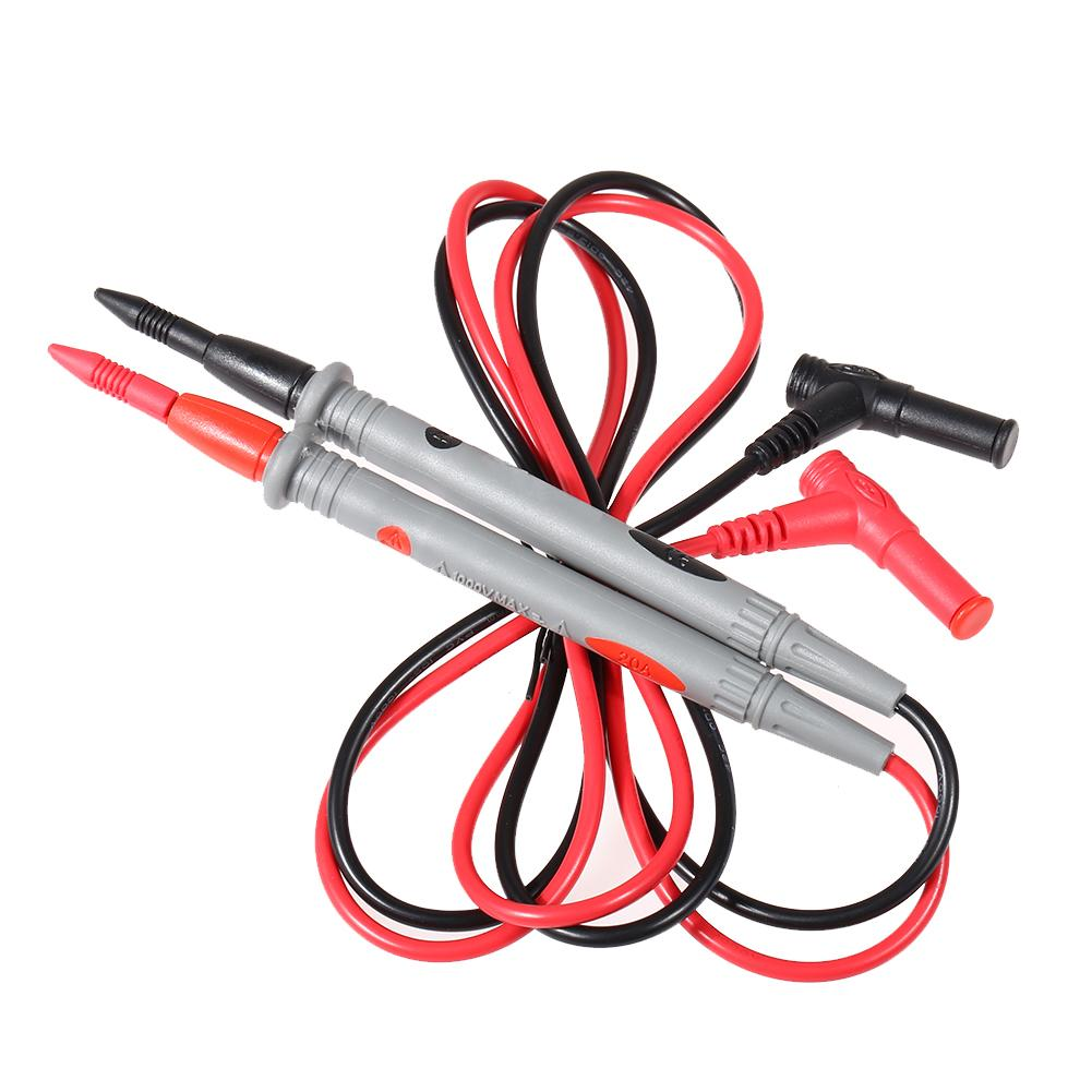 Multímetro Universal, sonda de prueba, Pin de cables para multímetro Digital reemplazable, multímetro de 20a, Cable de alambre, punta de bolígrafo