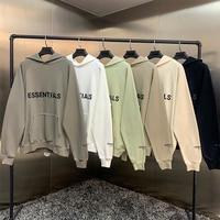 2021 New Hoodies Sweatshirts 100% 1:1 fog essentials kanye west jerry lorenzo loose ovesized Hoodies hip hop cotton Sweatshirts