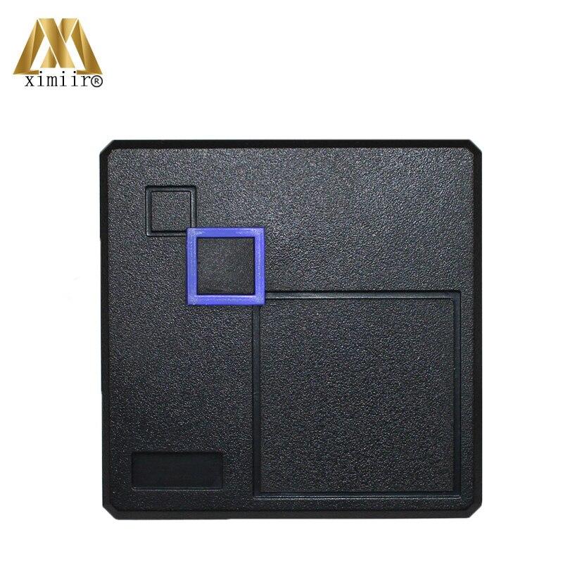 Envío Gratis buena calidad 5 unids/lote N81 Wiegand26 RF distancia 5 ~ 15CM Control DE ACCESO tarjeta de identificación lector de tarjetas inteligentes