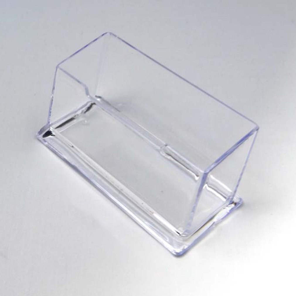 plastic acrylic display hanging stand holder shelf layers for quick store cigarette bottle commodity wall hung 1set Clear Desk Shelf Storage Display Stand Acrylic Plastic Transparent Desktop Business Card Holder