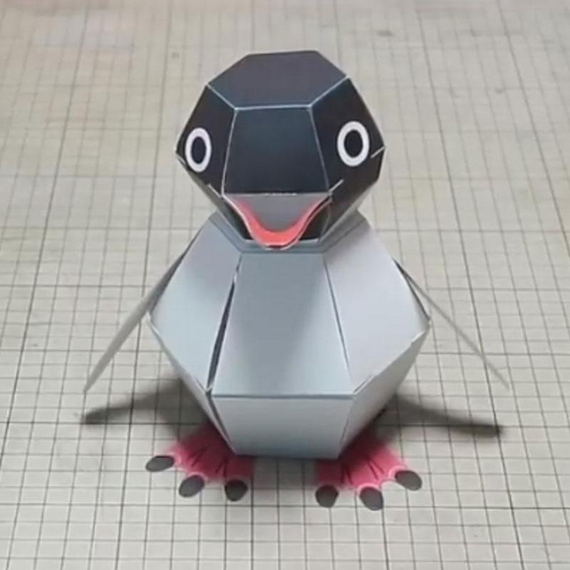 DIY papel decoración para scrapbook papel Haruki Nakamura papel juguetes Animal Origami Kirigami plegable descubrir juguetes adorables