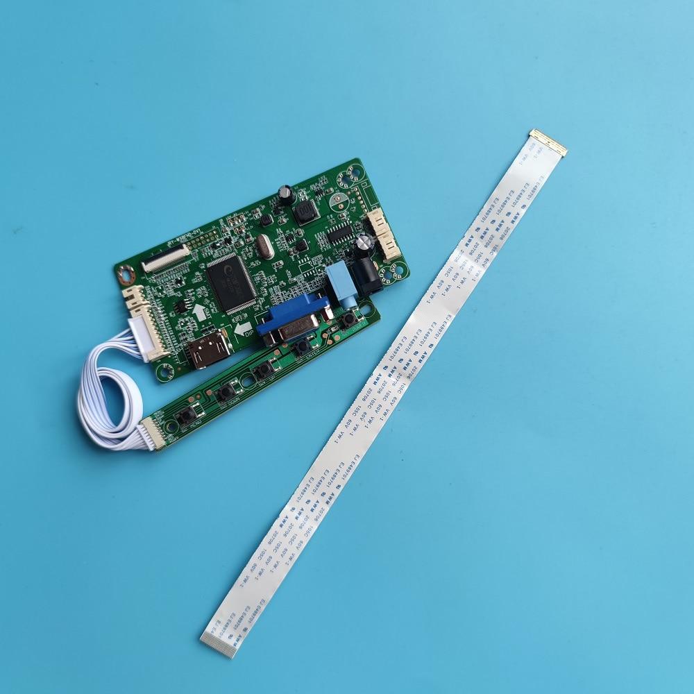 ل LP140WF6-SPB4 LED EDP LCD لتقوم بها بنفسك سائق مراقب 1920 × 1080 عدة VGA تحكم مجلس شاشة عرض EDP HDMI-متوافق 30Pin 14