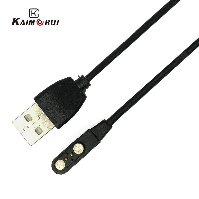 Original KW10 reloj inteligente cargador para KW20 KW88 Pro KW17 KW18 KW06 KW99 Pro KC06 GV68 reloj pulsera inteligente Cable de carga