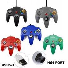 N64 cablato Gamepad Joypad Wired Gaming Gioco Joystick Pad Per Gamecube Per Mac Periferiche e controller per Videogiochi controller di gioco per PC joystick