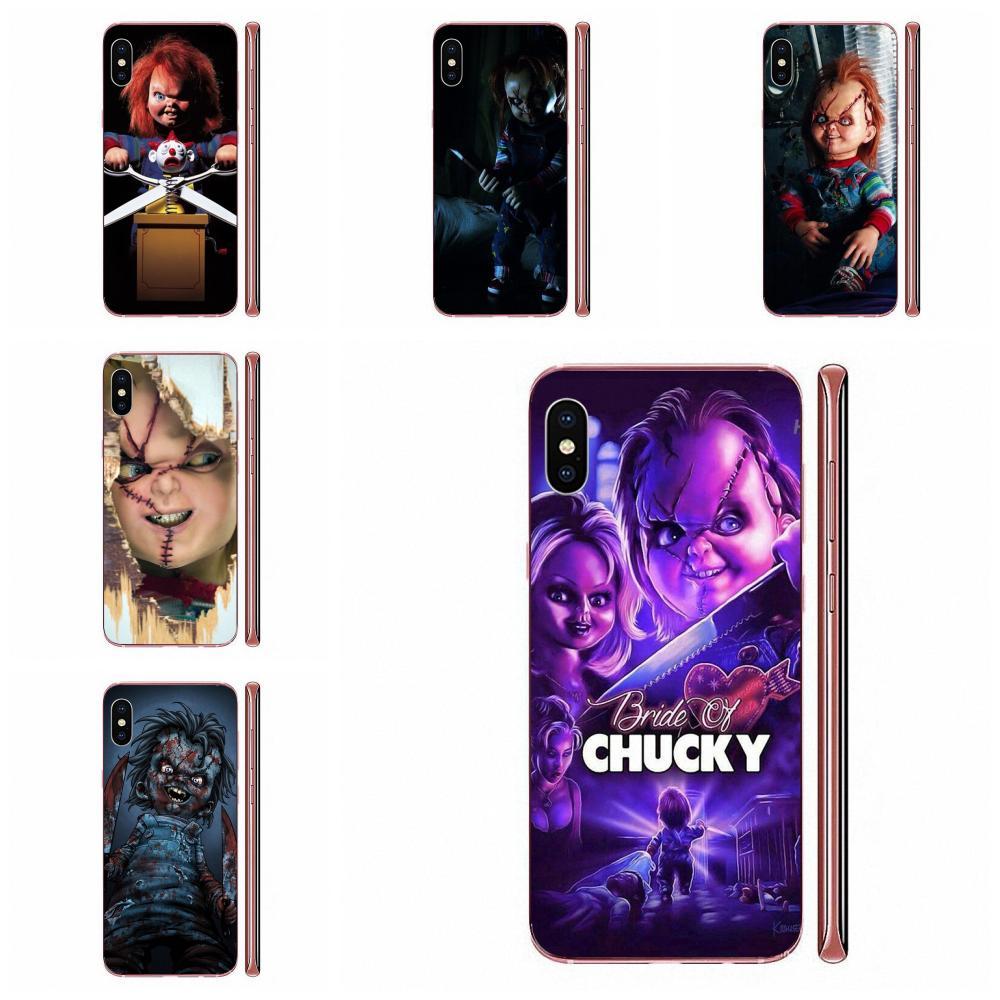 Charles Lee Ray Chucky Doll Skin Ultra Thin For Apple iPhone 11 Pro X XS Max XR 4 4S 5 5C 5S SE SE2 6 6S 7 8 Plus