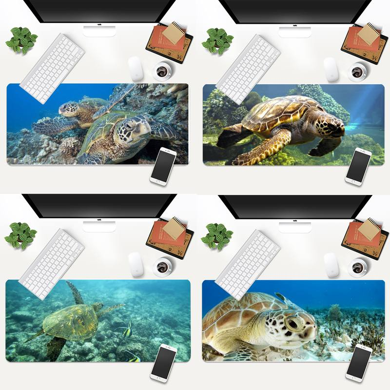 turtle Customized MousePads Computer Laptop Anime Mouse Mat Animation XL Large Gamer Keyboard PC Desk Mat Takuo Tablet Mousepads