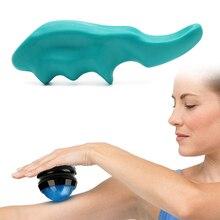 2 pièces ensemble de dispositif de Massage Massage manuel du pouce + Massage rouleau boule