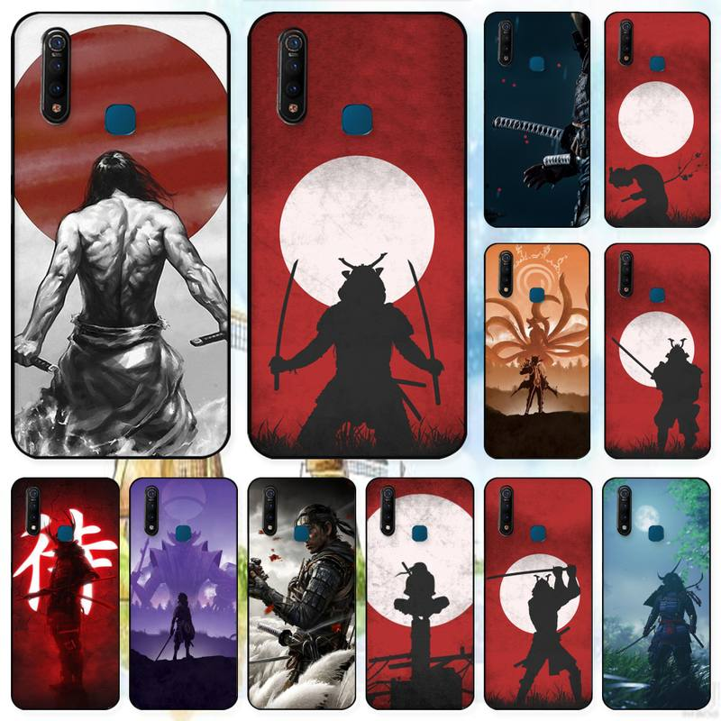LJHYDFCNB Japanese Samurai Phone Case For Vivo X9 9s 20 Plus Y97 83 75 71 69 V15 V17 V5 S