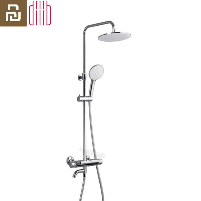 Diiib daibai seguro termostática torneira do chuveiro do banheiro conjunto banheira chuveiro mixer bath cachoeira cabeça de chuveiro da xiaomi youpin