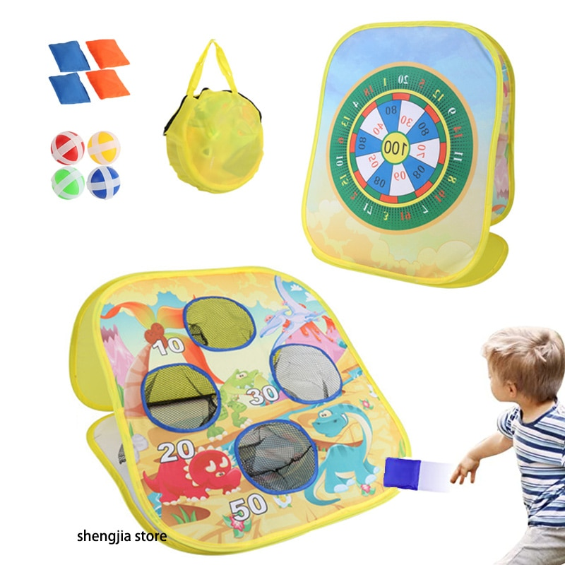 Фото - Bean Sand Bag Sticky Ball Catch Dart Board Toss Game Target Thow Kidergarden Children Playground Outdoor Sport Toy Toys Games 2021 novelty kids bean bag toss game toys outdoor dart board game game toy set fun parent child interaction educational game
