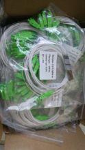 30 шт./лот 1X16 PLC SC/APC SM 0,9 мм Высококачественный волоконно оптический сплиттер 1 м FTTH SC APC