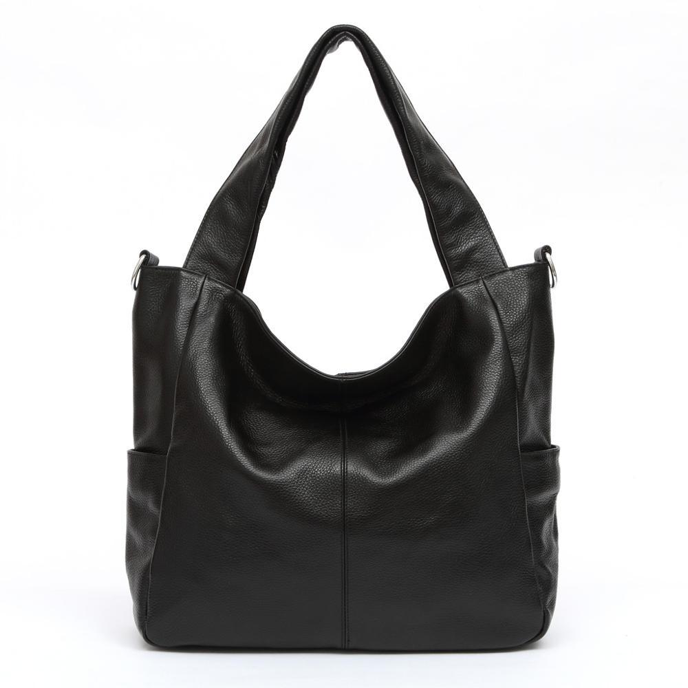 Aodux tamanho grande couro genuíno das mulheres sacos de ombro alça longa feminina mensageiro saco de compras bolsas senhoras bolsa