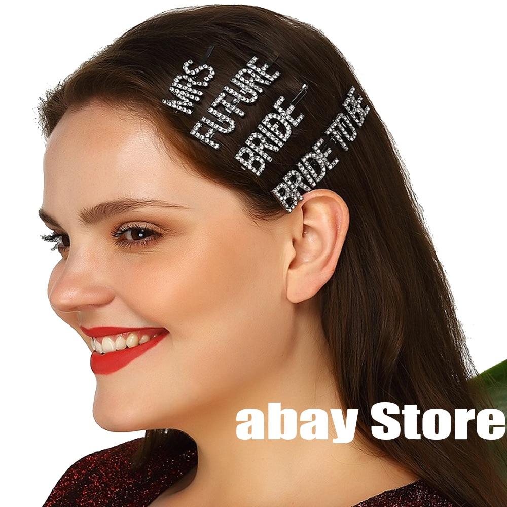 Clipe de cabelo de noiva para ser clipe de cabelo personalizado nome personalizado clipe de cabelo personalizado sra. clipe de cabelo nupcial do chuveiro de casamento jóias de cabelo