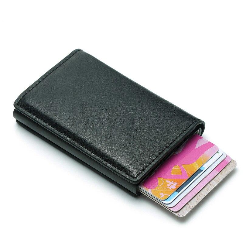 Мужской кошелек, кошелек для денег, мужской черный короткий кошелек в стиле ретро, 2019 маленький кожаный тонкий кошелек, тонкий мини-кошелек