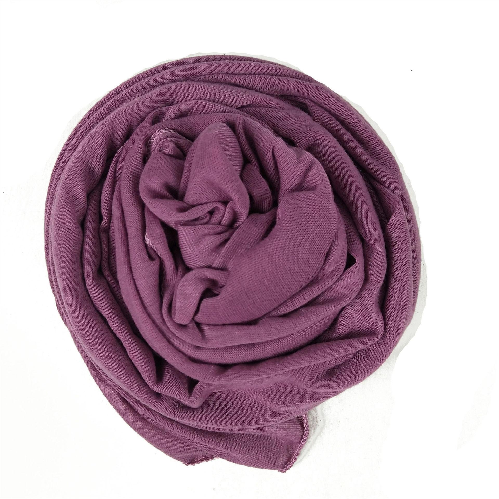 Ha 1pcs Fashion Modal Cotton Jersey Hijab Scarf Long Muslim Shawl Plain Soft Turban Tie Head Wraps For Women Africa Headband