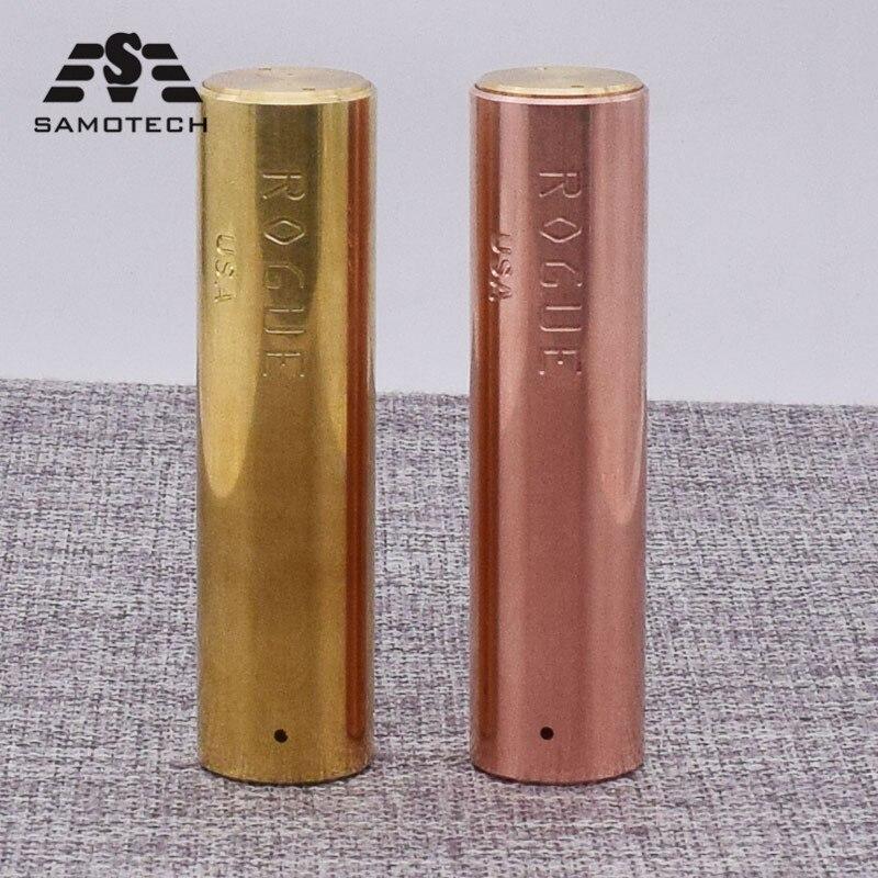 Rogue mod Mechanical E Cigarette Mod 25mm diameter 510thread fit 18650 battery RDA Atomizer gift box mod vape pen vs YFTK MOD enlarge
