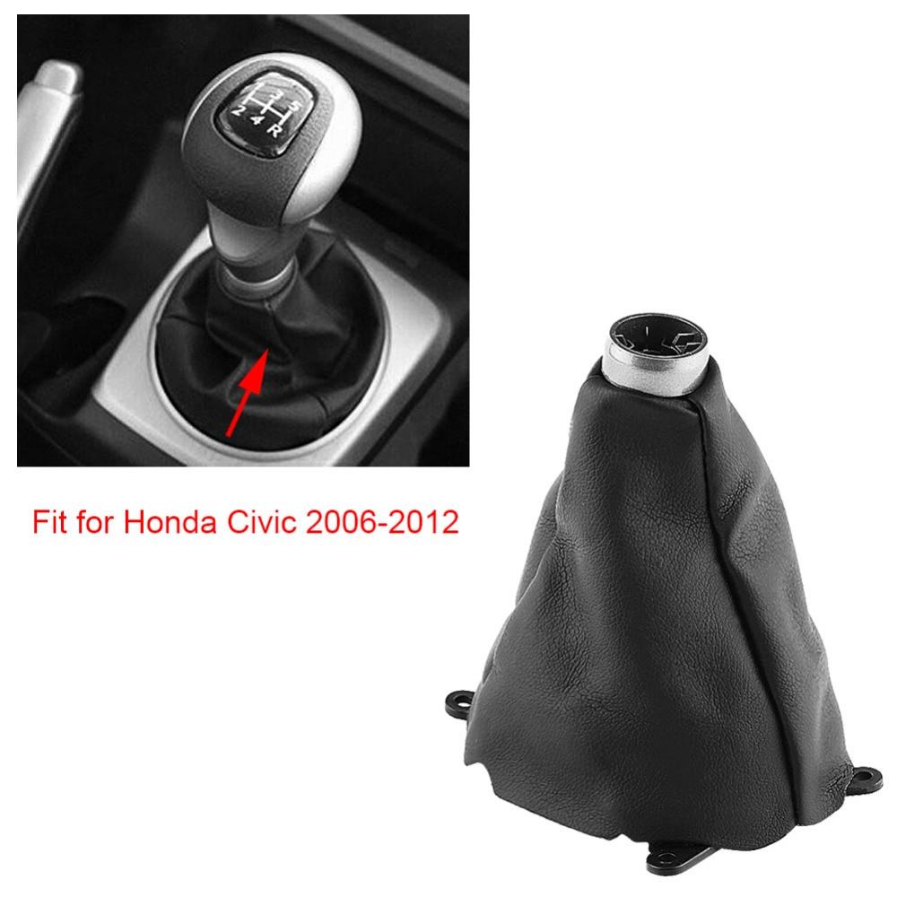 Auto Manuelle Kunststoff Gummi Getriebe Gamasche Verschiebung Shifter Boot Ersatz für Honda Civic 2006 2007 2008 2009 2010 2011 2012