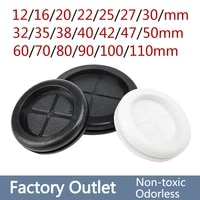 1051pcs 12 110mm circlip rubber wire grommet gasket electric box inlet outlet seal ring dust plug cover cable holder protector
