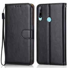 Luxury Leather Case for On On Huawei Y6p MED-LX9, MED-LX9N 6.3''Wallet Stand Flip Case Phone Bag wit