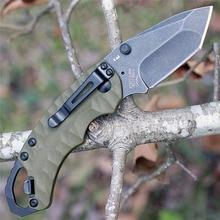 8750 chasse pêche pliant 3 style couteau 8CR13M lame en aluminium poignée en plein air Camping survie tactique couteaux EDC BBQ outil