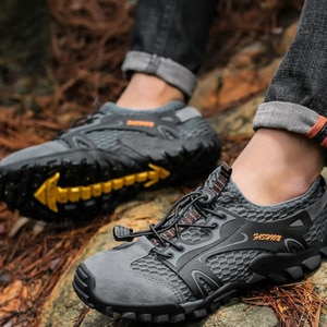 Men Outdoor Breathable Mesh Hiking Sports Aqua Boots Swimming Quick Dry Sneakers Trekking Climbing Wading Trail Water Shoes