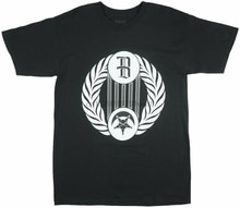 Compendio camiseta Streetwear BLVCK SCVLE negro