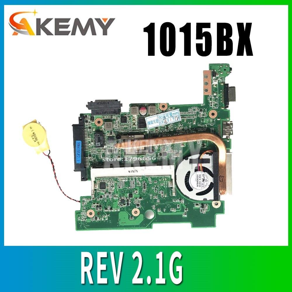1015BX материнская плата для ноутбука Asus Eee PC 1015BX материнская плата REV 2,1G полностью протестирована без радиатора 2GB C60 CPU