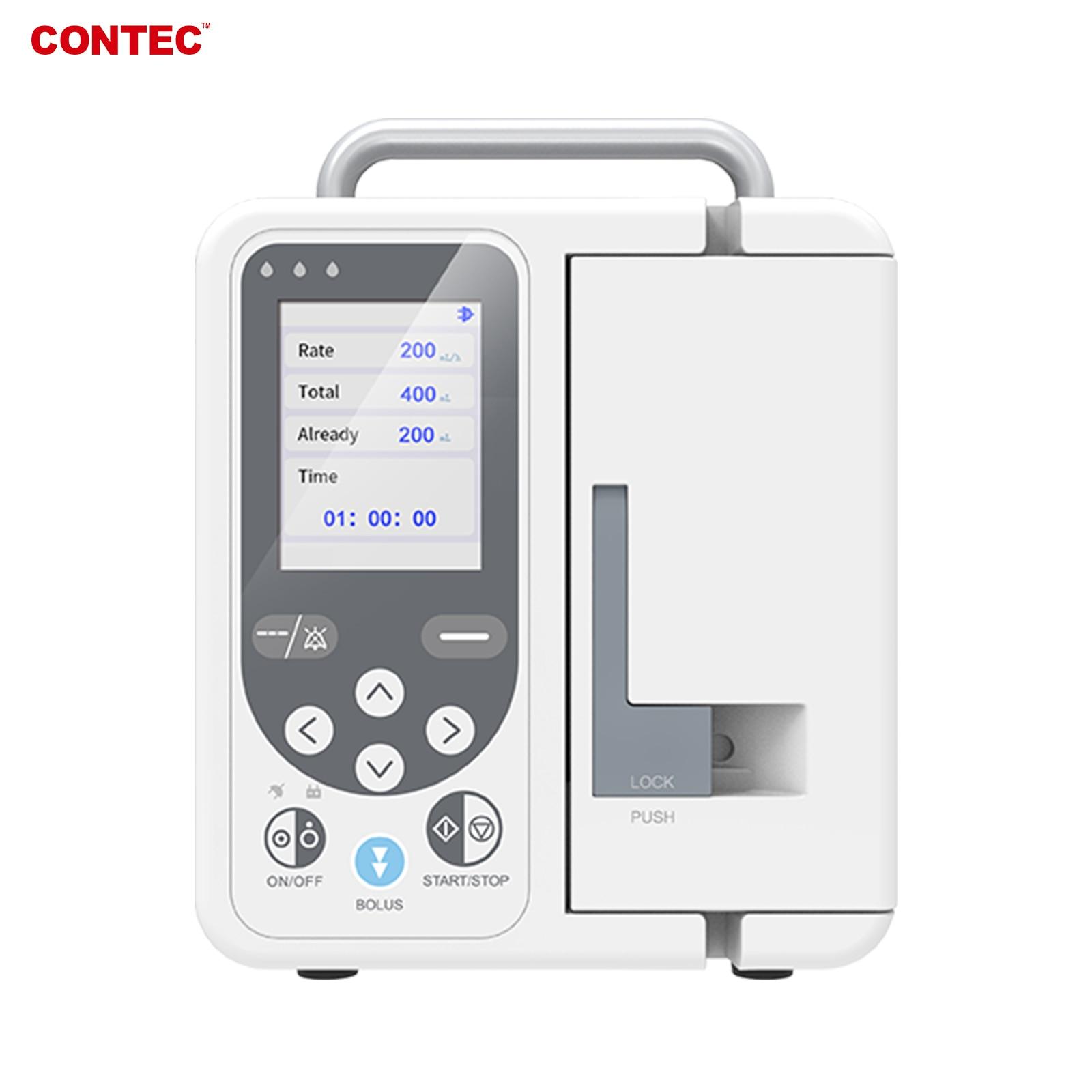 contec-bomba-de-infusion-sp750-alarma-en-tiempo-real-pantalla-lcd-grande