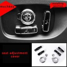 Pour Jaguar XE xel housse de réglage du siège garniture de moulage 8 pièces