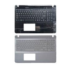 US laptop keyboard for sony SVF152C29V SVF153A1QT SVF15A100C SVF152100C SVF1521Q1RW keyboard with Palmrest upper Cover