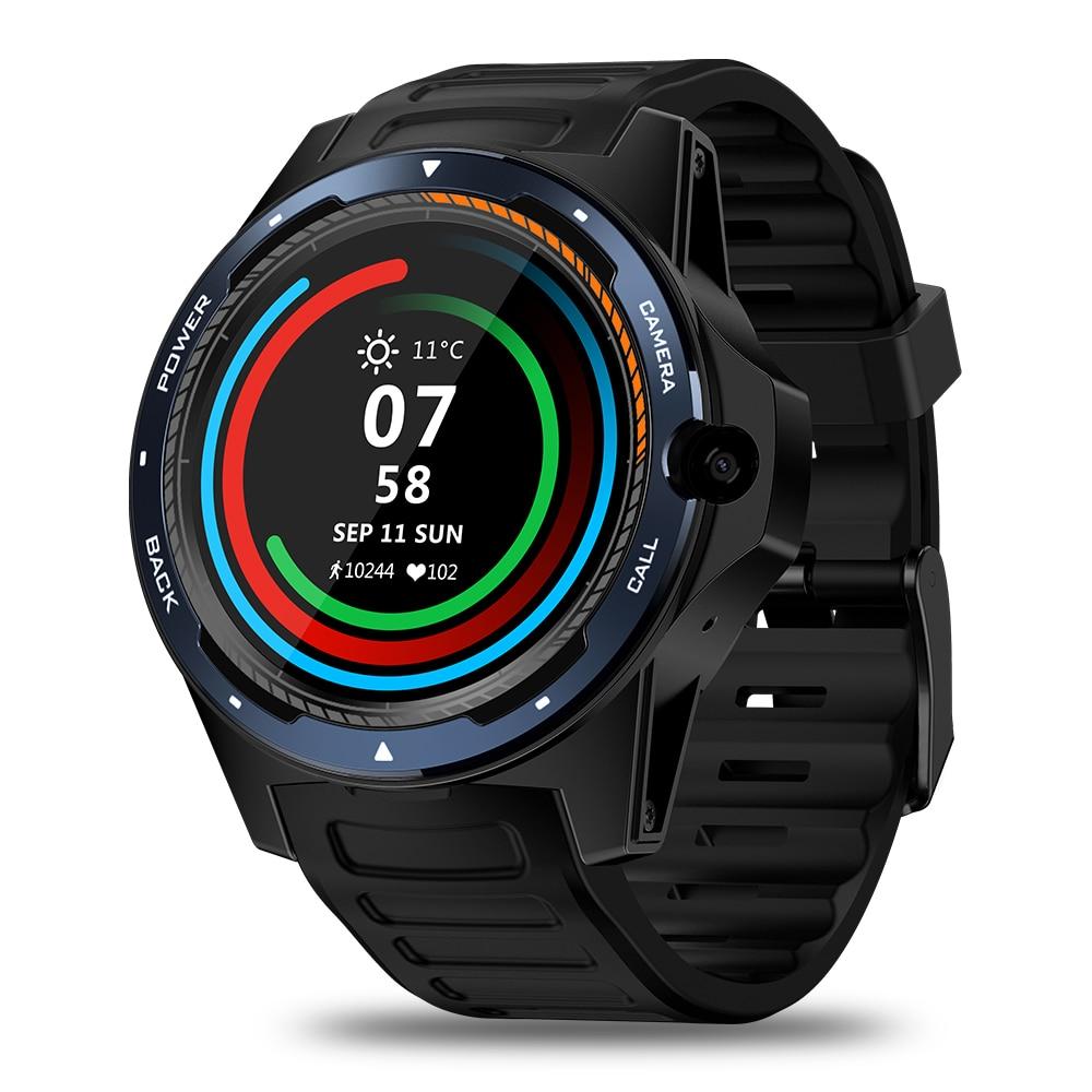 "Review Zeblaz e THOR 5 Smart Watch with 8MP Camera smart bracelet 2GB+16GB Dual System GPS 1.39"" Heart Rate Monitor sport Smartwatch"