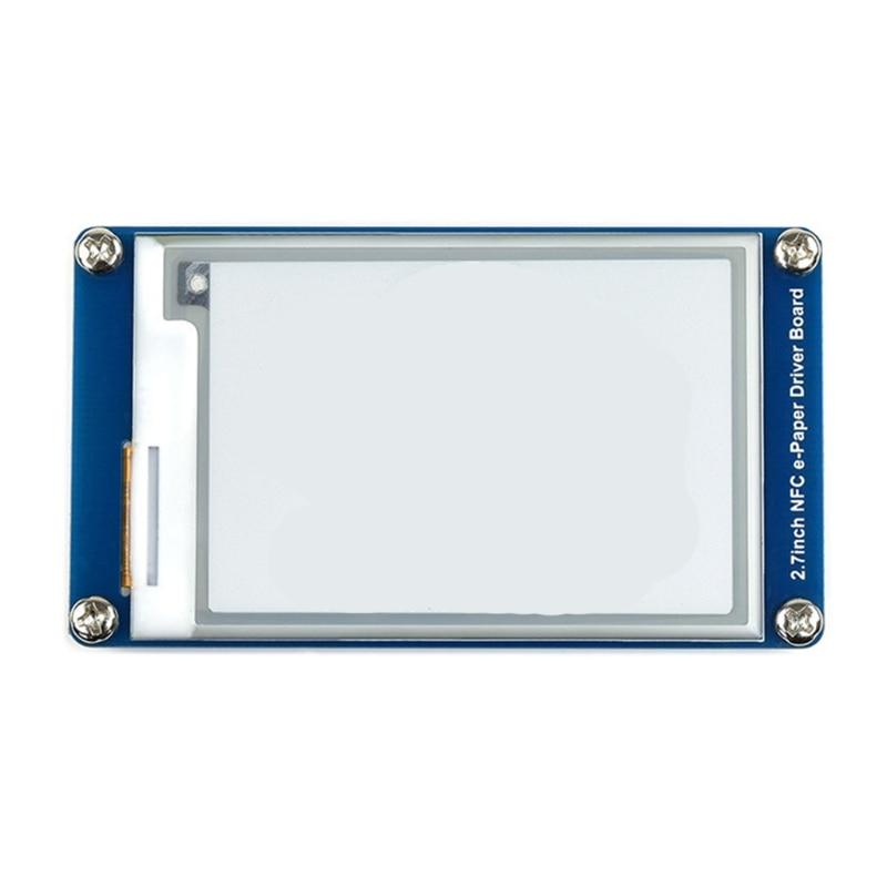 وحدة توفير الطاقة 2.7 بوصة تعمل بالطاقة الإلكترونية NFC تستخدم لبطاقة رفوف المستودعات