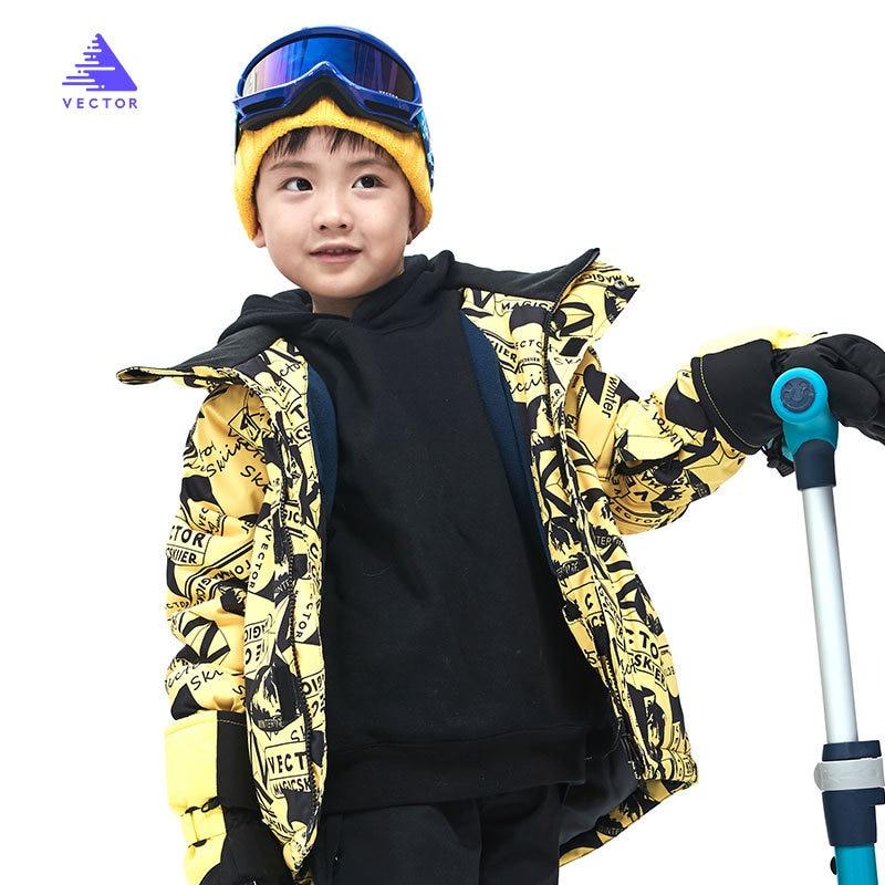 Kids Winter Warm Jackets Hot Sale Children Snow Suit Coats Boys Skiing Snowboarding Clothing Girls Waterproof Jacket