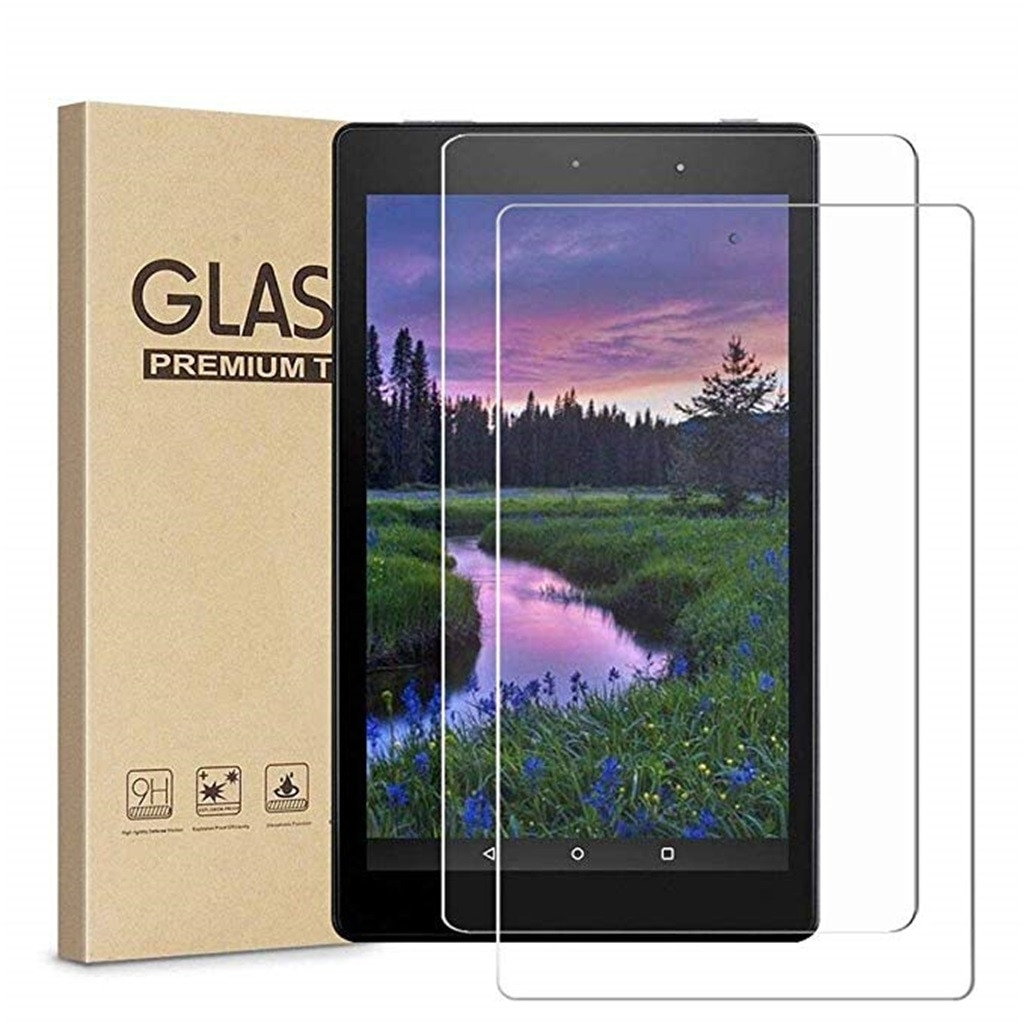 Real Tempered Glass Film Screen Protector For Amazon Kindle Fire HD 8 2017 High Quality Tablet Protection Pad Accessories