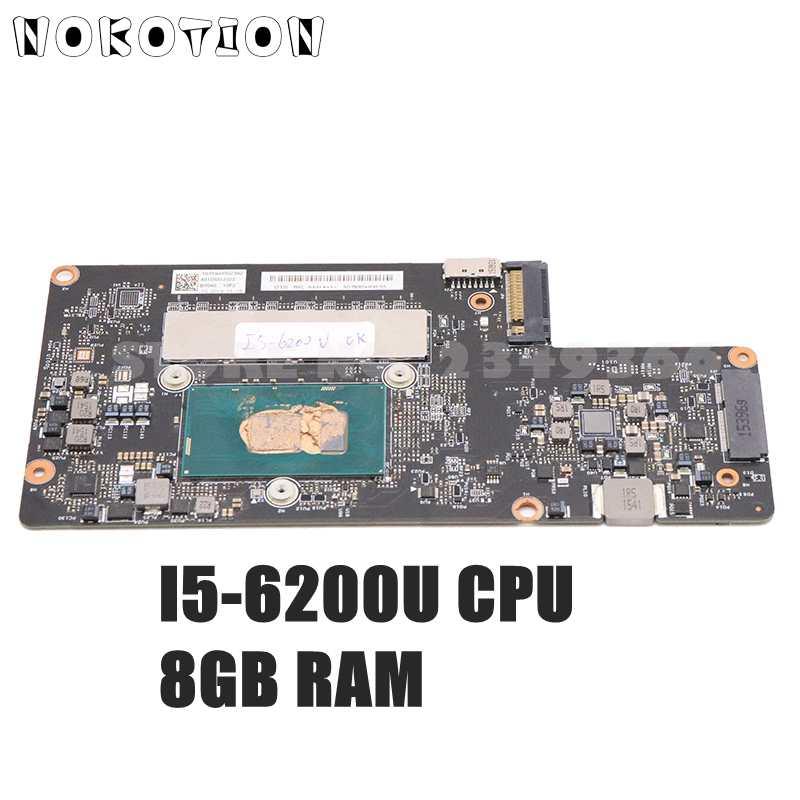 NOKOTION BYG40 NM-A411 اللوحة الرئيسية لينوفو IdeaPad اليوغا 900-13ISK اللوحة الأم I5-6200U وحدة المعالجة المركزية 8 جيجابايت رام FRU:5B20K48468