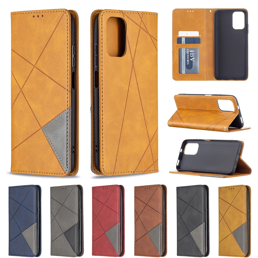Stand Leather Phone Case For Samsung Galaxy A82 A22 S21 FE Lite Cover Flip Magnetic Wallet Full Protection Shockproof Shell Etui