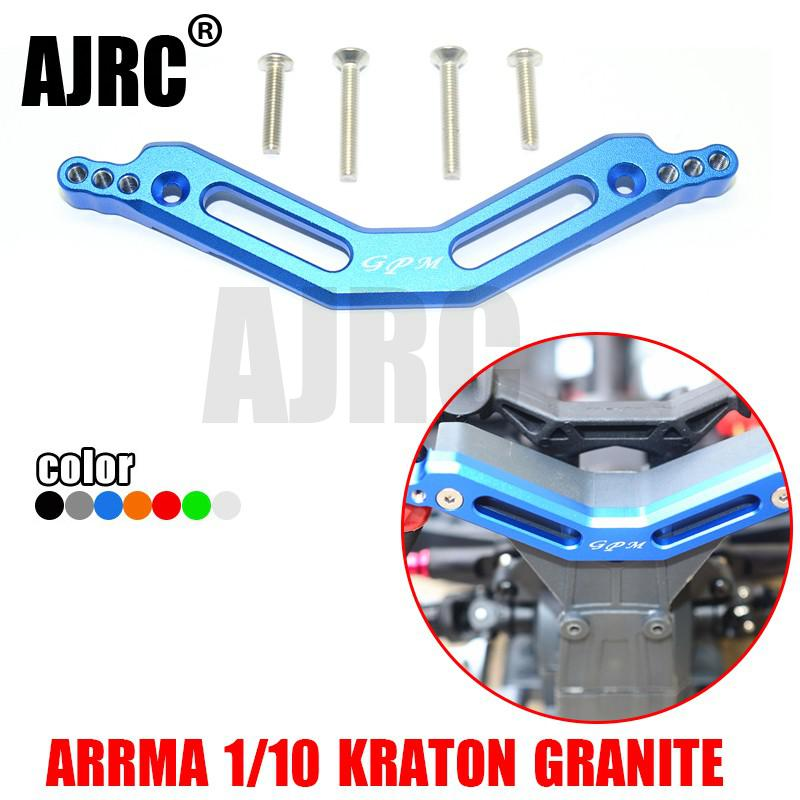 ARRMA 1/10 GRANITE/MOSTER/TRUCK aluminum alloy porous rear shock absorber bracket